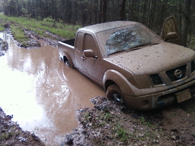 Nissan Frontier on a bad day!