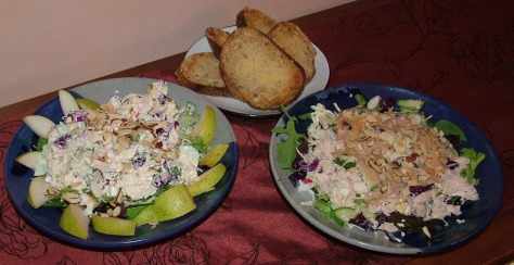 His and Hers Salads began with Canned Chicken!