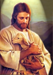 Jesus-shepherd-holds-lamb-in-arms1-281x400