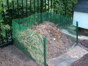 When we do not heed the Word of God all our efforts waste away, crumbling back to the earth like the dead plants in this compost pile.  How better to thrive in the Word of wisdom!