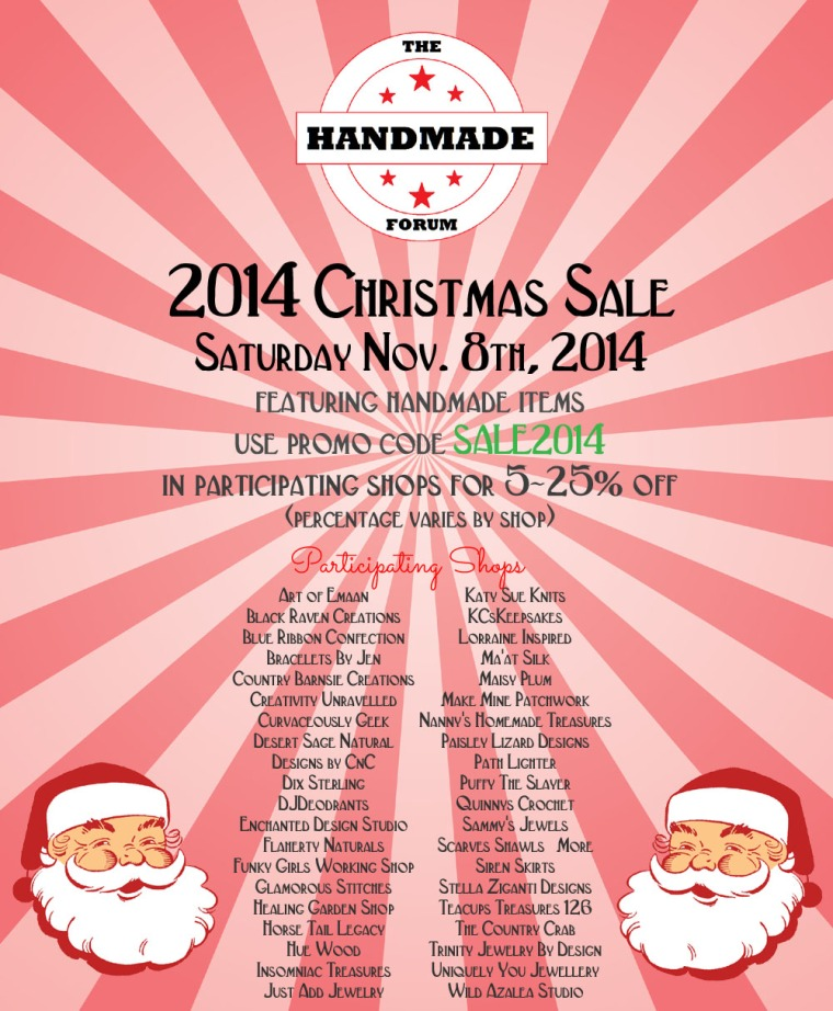handmade forum flyer 2014