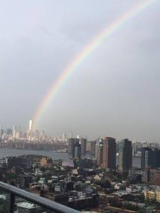 9/11, 9.11, 9.11.01, September 11th, terrorist attacks, remembering 9/11, Christian response, hope in tragedy, Twin Towers, Pentagon, fields of Pennsylvania, rainbow over NYC, rainbow on eve of 9/11, rainbow over New York City