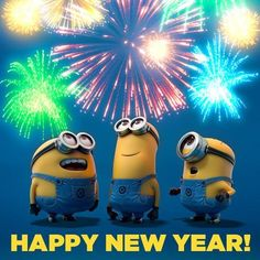 Minion New Year