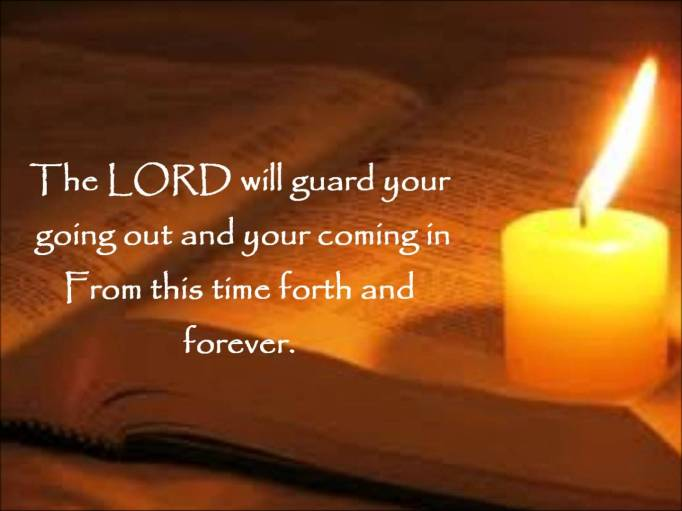 Psalm 121, peace, coming and going, gratitude, rest, forever