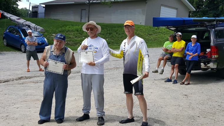 kayak, canoe, racing, paddling, awards, ceremony, St. Joe River, Fort Wayne, competition, C2, Stellar, Steve Horney