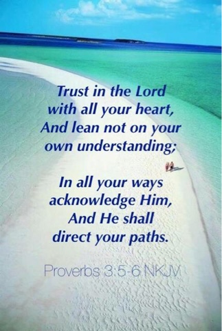 trust in the Lord, faith, Proverbs, 3, 5-6, scripture, Bible, verse, trust, how it plays out, daily life