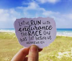 Hebrews, 12:1, run, the race, with endurance, Bible verse, race of life