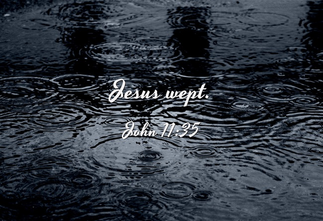 Jesus wept, John, 11:35, grief, Christian, suffering, crying out to the Lord, shortest verse